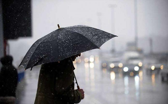 زخات مطرية رعدية مصحوبة ببرد وثلوج ستهم مجموعة من المناطق بدءا من اليوم
