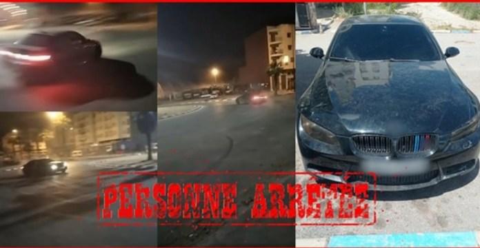 أمن الدار البيضاء يتفاعل مع فيديو شاب يستعرض بسيارته وراء الإفطار